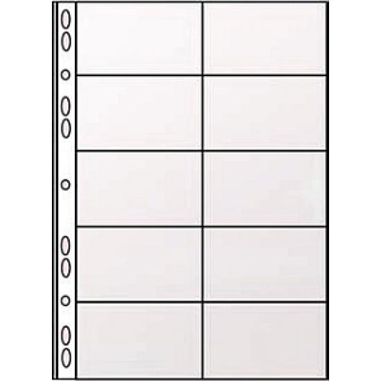 Картинки по запросу Вкладыши для визитницы на кольцах Panta Plast А4, фото