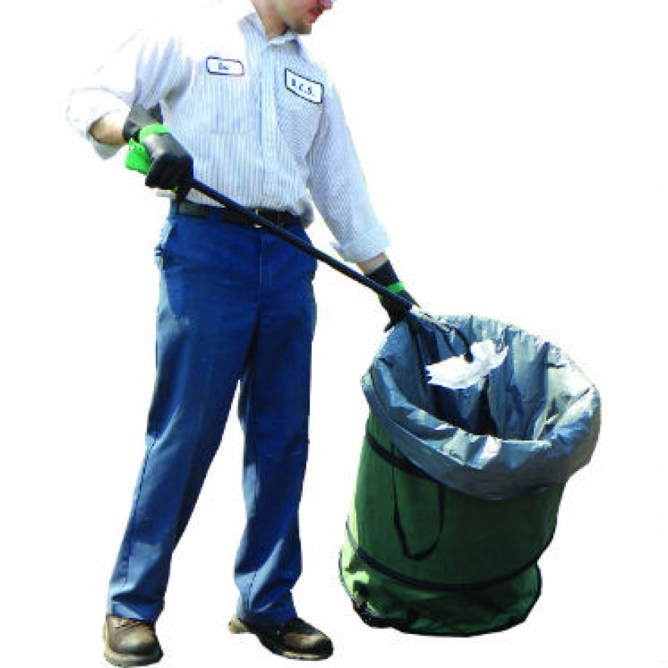 Приспособление для уборки мусора