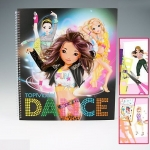 Раскраска Top Model Dance