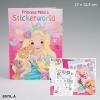 Раскраска TopModel.Princess Mimi Мир принцессы Мими