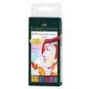 Faber-Castell Ручки капиллярные PITT artist pens brush