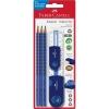 Набор карандашей Grip2001+ластик+точилка