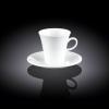 Чашка фарфоровая с блюдцем 90мл