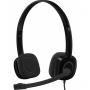 Наушники с микрофоном Stereo Headset H151 Logitech