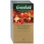 """Чай """"Greenfield Wildberry Rooibos"""" черный, с кусочками земляники и клюквы"""
