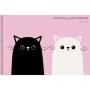 """Альбом для рисования """"Два кота"""", А4, 40 листов"""