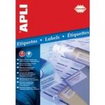 Влагоустойчивые прозрачные этикетки из полиэстера Apli