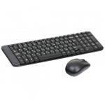 Комплект беспроводных клавиатура + мышь Logitech MK220