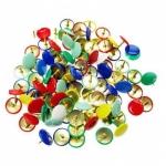 Кнопки канцелярские цветные