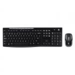 Компьютерная клавиатура + мышь (беспроводные) MK270 Logitech