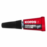 "Супер-клей ""Kores Powerglue GEL"" 3*1гр."