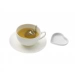 """Набор для чая: ситечко и подставка """"Tea&Heart;"""""""