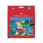 """Цветные карандаши """"Faber-Castell"""" акварельные"""
