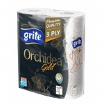Полотенца бумажные GRITE Orchidea Gold