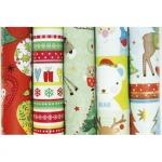 """Бумага подарочная в рулоне """"Children Christmas"""" ассорти"""