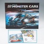 Раскраска Create your Monster Cars