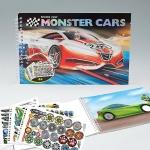 Раскраска Create your Monster Cars