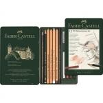 "Faber-Castell Специальный набор графита ""Pitt Monochrome"" 12 предметов"