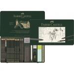 "Faber-Castell Специальный набор графита ""Pitt Monochrome"" 26 предметов"
