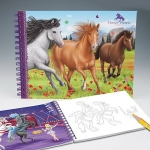 Раскраска Creative Studio Horses Dreams
