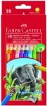 Набор цветных карандашей Jumbo с точилкой