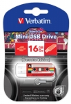 "USB Flash 2.0 16 Gb ""Mini Cassete Edition"""