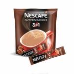 Кофейный напиток NESCAFE 3в1  Карамельный вкус  растворимый (20шт/уп)