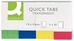 Закладки Q-Connect Quick Tabs Neon