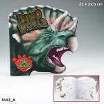 Раскраска Dino World.Мир динозавров