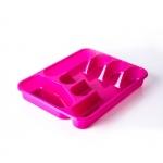 Лоток для столовых приборов пластмассовый 33*26*4,6 см