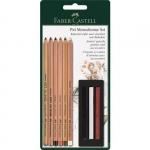 """Набор пастельных карандашей и мелков """"Pitt Monochrome"""" Faber-Castell"""