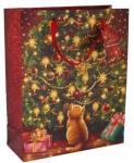 """Пакет бумажный подарочный """"Новогоднее чудо"""""""