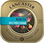 """Чай черный """"LANCASTER"""" с бергамотом, лепестками василька и розы"""