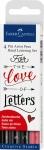 Faber-Castell Ручки капиллярные Pitt Artist Pen Hand Lettering