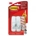 Крючок 3М с системой крепления Command