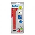"""Набор карандашей """"Milan"""" + ластик + точилка"""