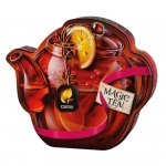 """Чай чёрный """"Curtis Drink Me Winter Wine Teapot """"с апельсином, корицей, кусочками винограда"""