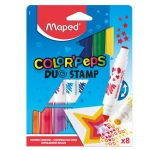 "Фломастеры ""Color Peps Duo Stamps"""