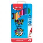 """Цветные карандаши """"Color Peps"""" в металлическом пенале"""