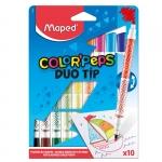"""Фломастеры двухсторонние """"Duo TIP Color Peps"""""""