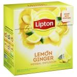 "Чай ""Lipton"" Lemon Ginger"
