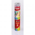 """Цветные карандаши """"KORES KOLORES"""" в тубе, трехграннные, с точилкой"""