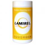 Чистящие салфетки для экранов всех типов Lamirel в тубе (100 шт.)