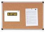 Доска пробковая в алюминиевой рамке Bi-Office