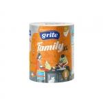 Полотенца бумажные GRITE Family XL