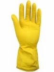 Перчатки хозяйственные латексные с х/б напылением Komfi