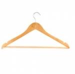 Вешалка-плечики деревянная
