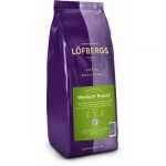 "Кофе ""Lofbergs"" Medium Roast в зерне"