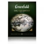 "Чай ""Greenfield"" Earl Grey Fantasy с ароматом бергамота"