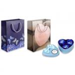 Пакет подарочный «Бабочки. Сердце»